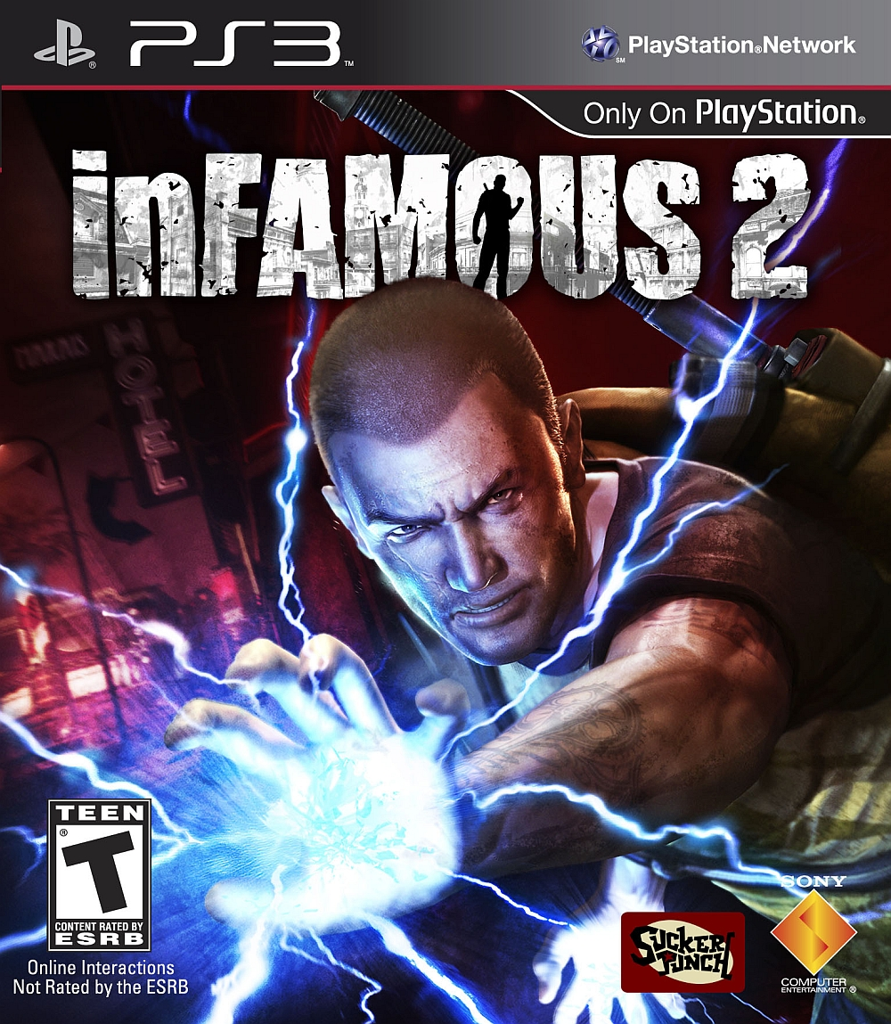 High Resolution Wallpaper   InFAMOUS 2 1000x1149 px