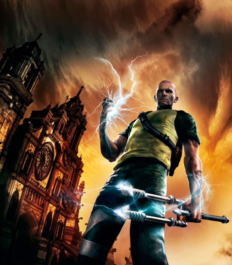 HD Quality Wallpaper   Collection: Video Game, 896x1024 InFAMOUS 2