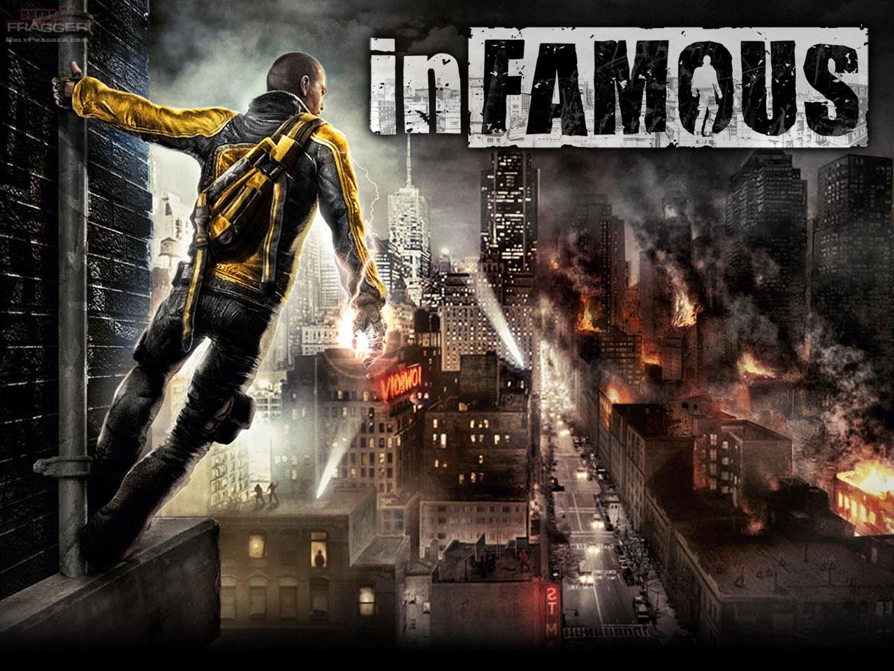 InFAMOUS Backgrounds, Compatible - PC, Mobile, Gadgets| 1280x960 px
