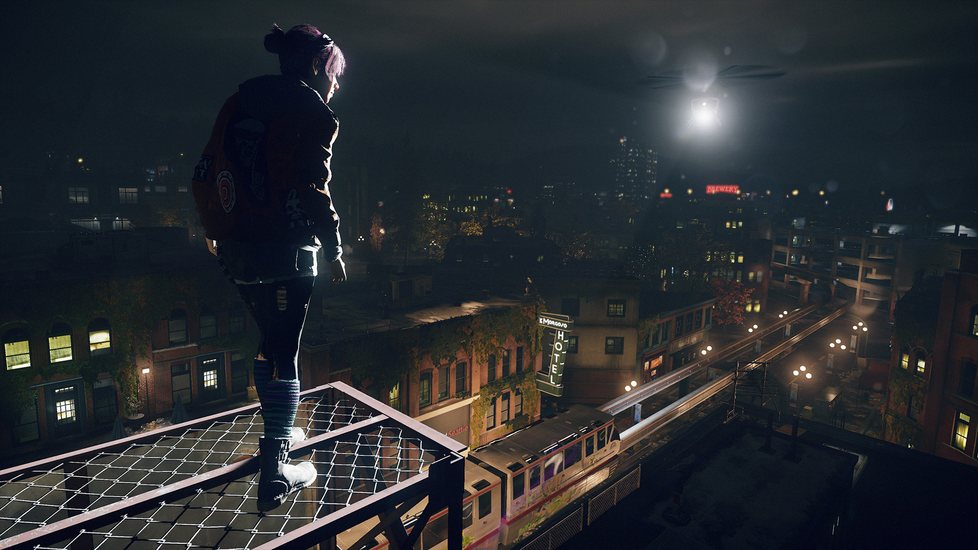 InFAMOUS: First Light Backgrounds on Wallpapers Vista