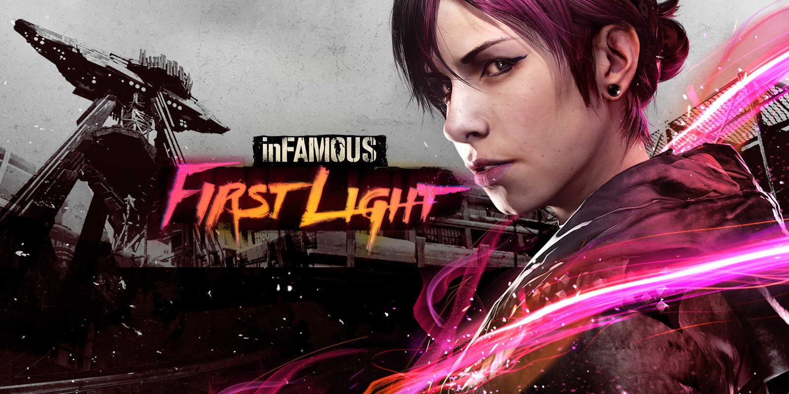 HD Quality Wallpaper | Collection: Video Game, 1600x800 InFAMOUS: First Light