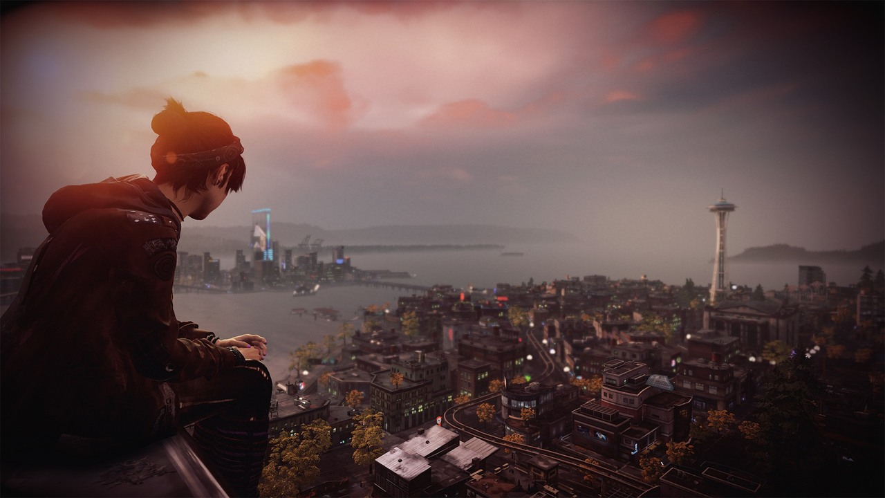 Nice Images Collection: InFAMOUS: First Light Desktop Wallpapers