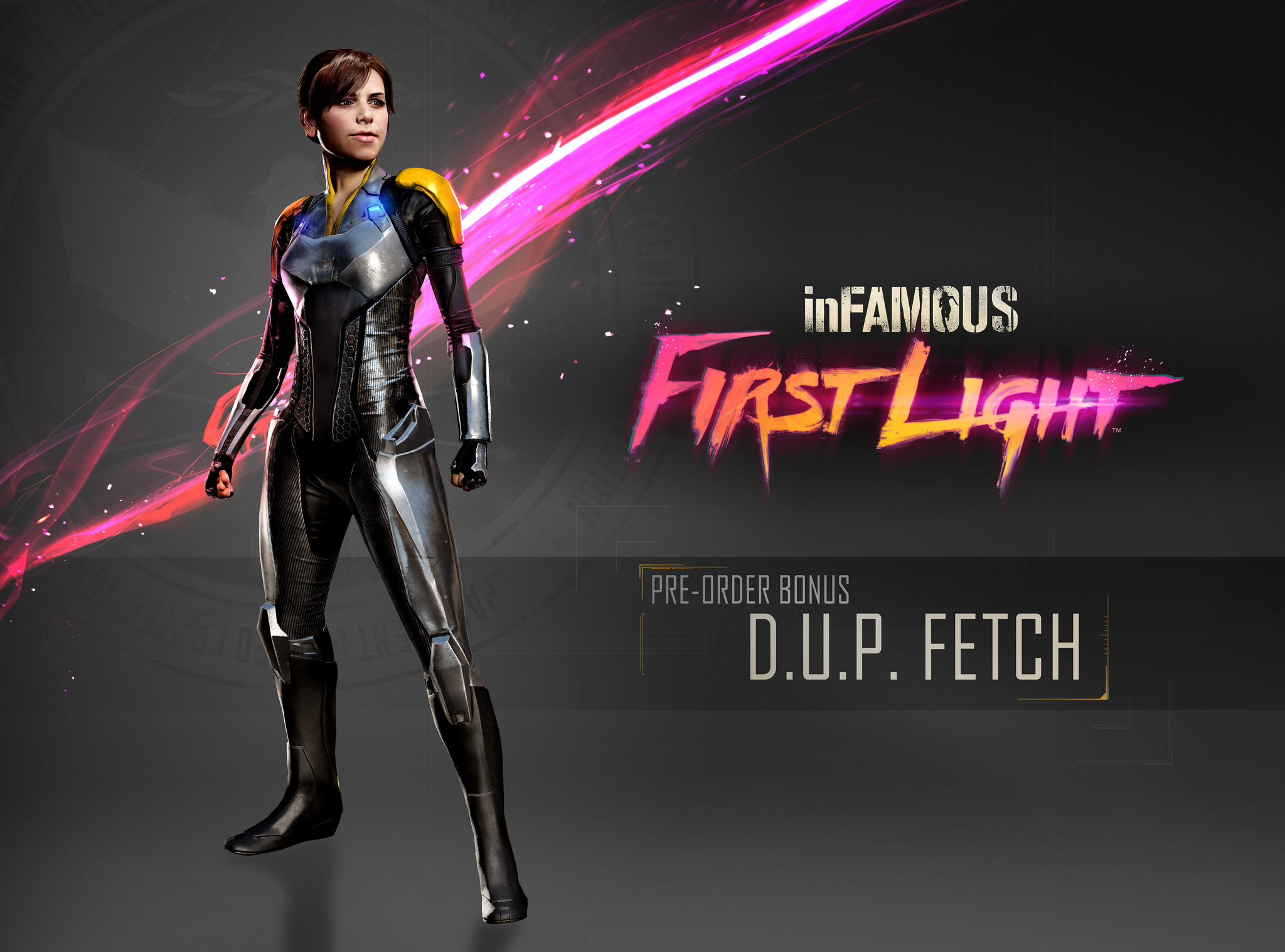 2048x1517 > InFAMOUS: First Light Wallpapers