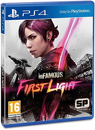 HQ InFAMOUS: First Light Wallpapers | File 62.29Kb