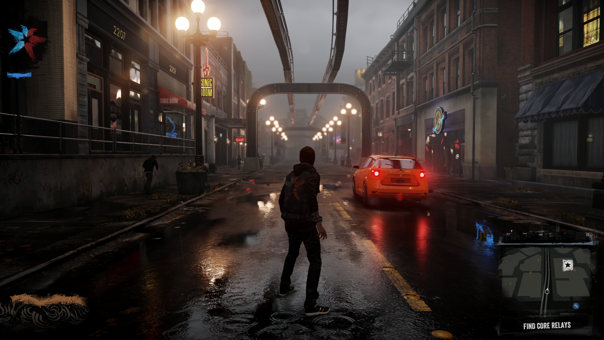 HD Quality Wallpaper | Collection: Video Game, 1920x1080 InFAMOUS: Second Son