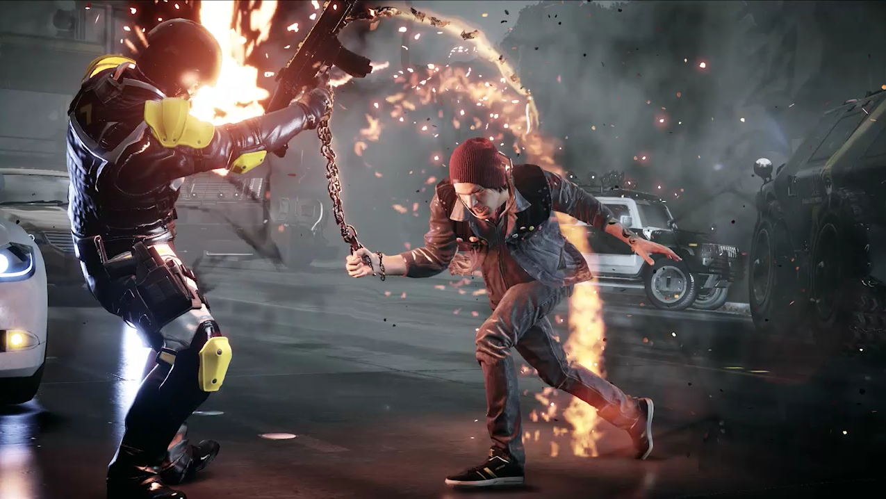 Nice Images Collection: InFAMOUS: Second Son Desktop Wallpapers
