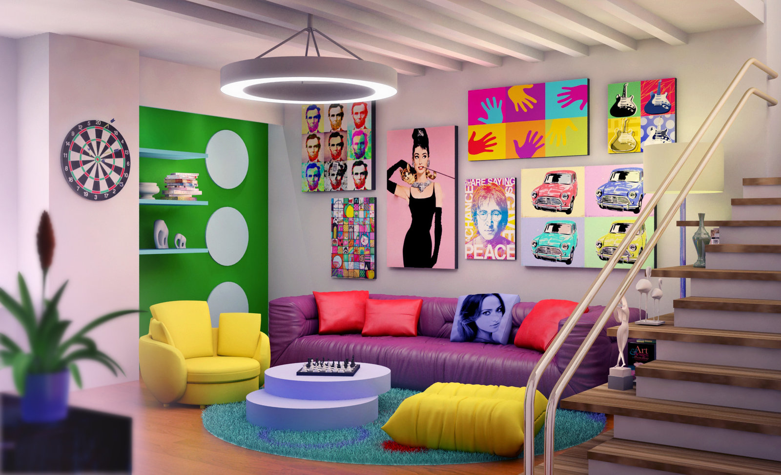 Nice wallpapers Interior Art Design  1600x973px