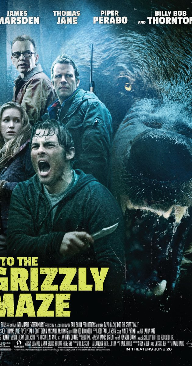 HQ Into The Grizzly Maze Wallpapers | File 212.87Kb
