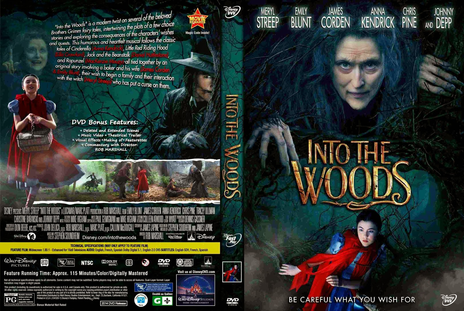 Into The Woods (2014) Backgrounds, Compatible - PC, Mobile, Gadgets| 1600x1074 px