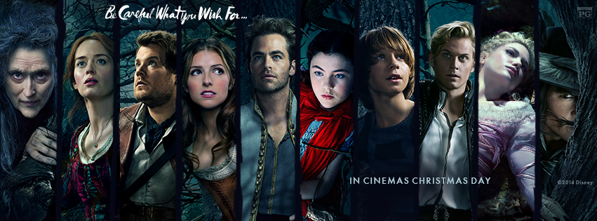 Into The Woods (2014) Backgrounds, Compatible - PC, Mobile, Gadgets| 851x315 px