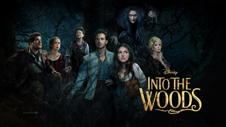 HD Quality Wallpaper | Collection: Movie, 728x410 Into The Woods (2014)
