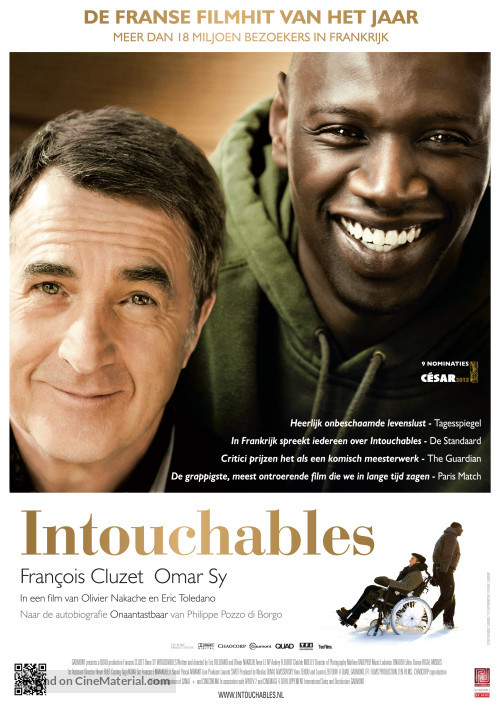 Nice wallpapers Intouchables 500x707px