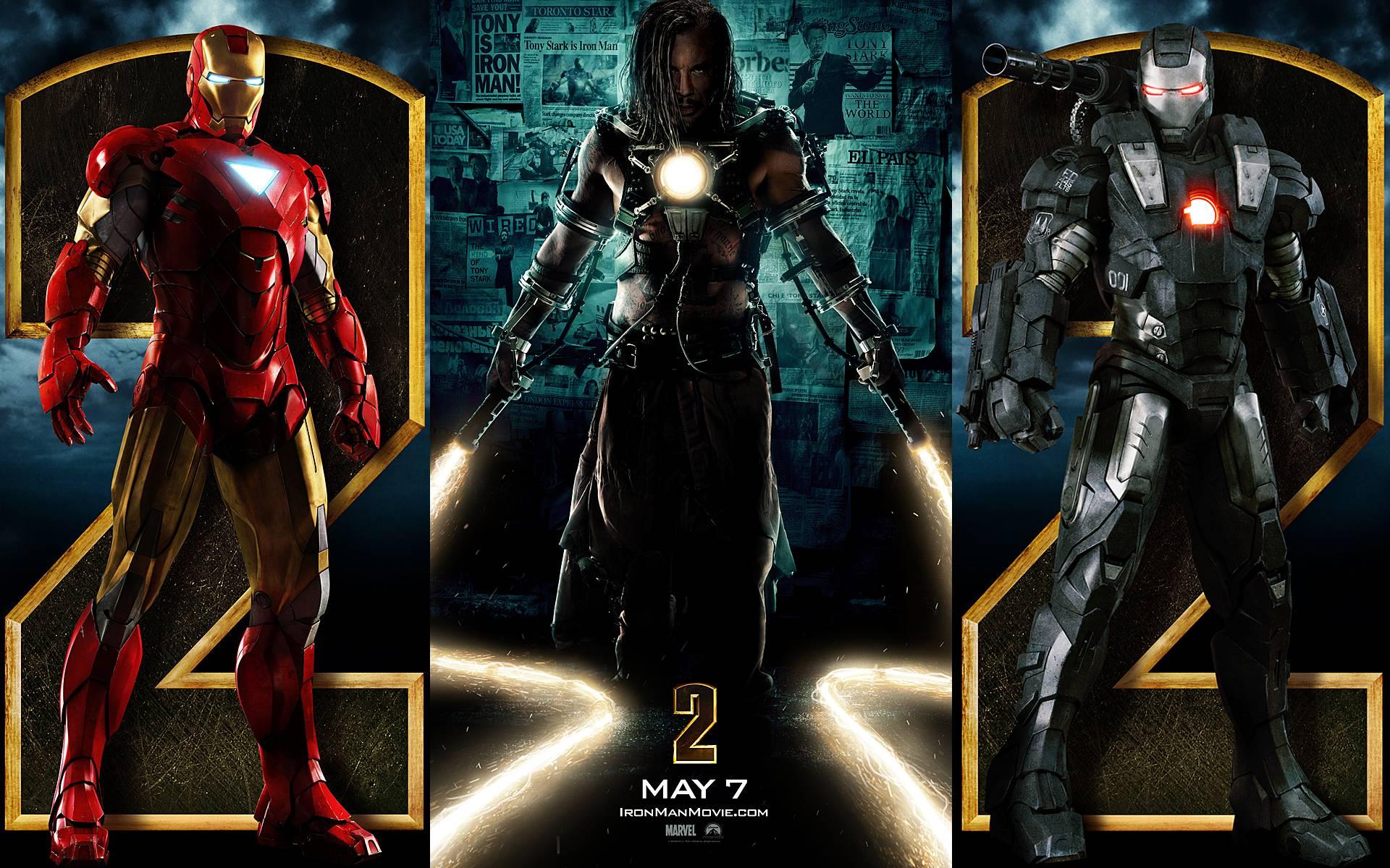 Iron Man 2 Backgrounds, Compatible - PC, Mobile, Gadgets| 1920x1200 px