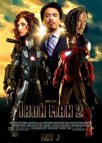 Nice wallpapers Iron Man 2 388x543px