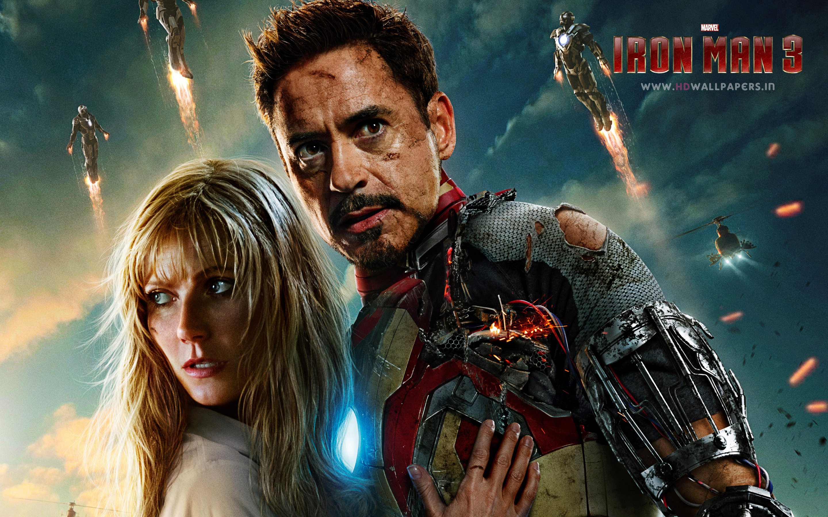 Iron Man 3 Backgrounds on Wallpapers Vista