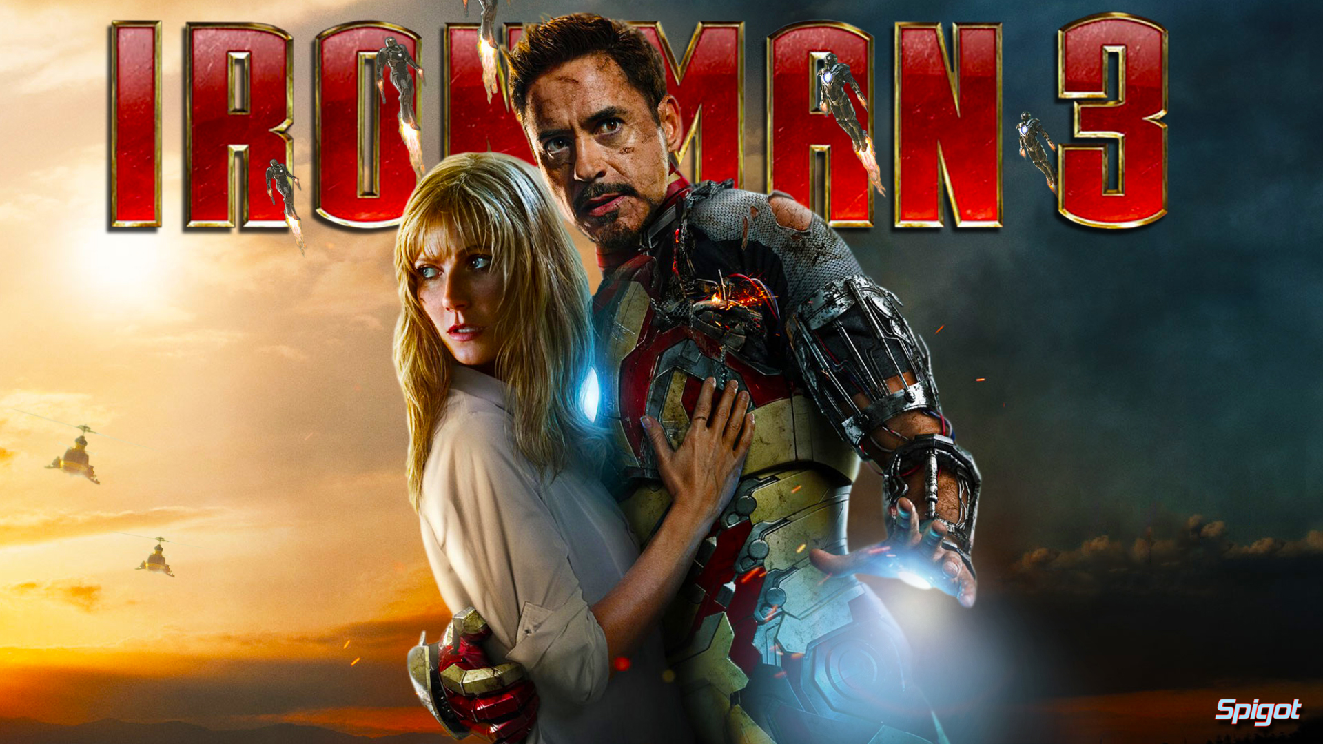 Iron Man 3 High Quality Background on Wallpapers Vista
