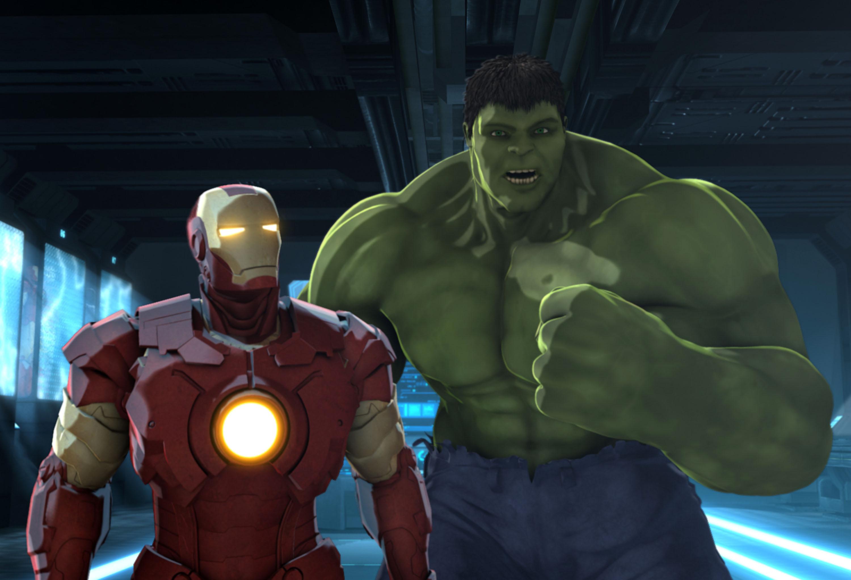 3000x2044 > Iron Man & Hulk: Heroes United Wallpapers