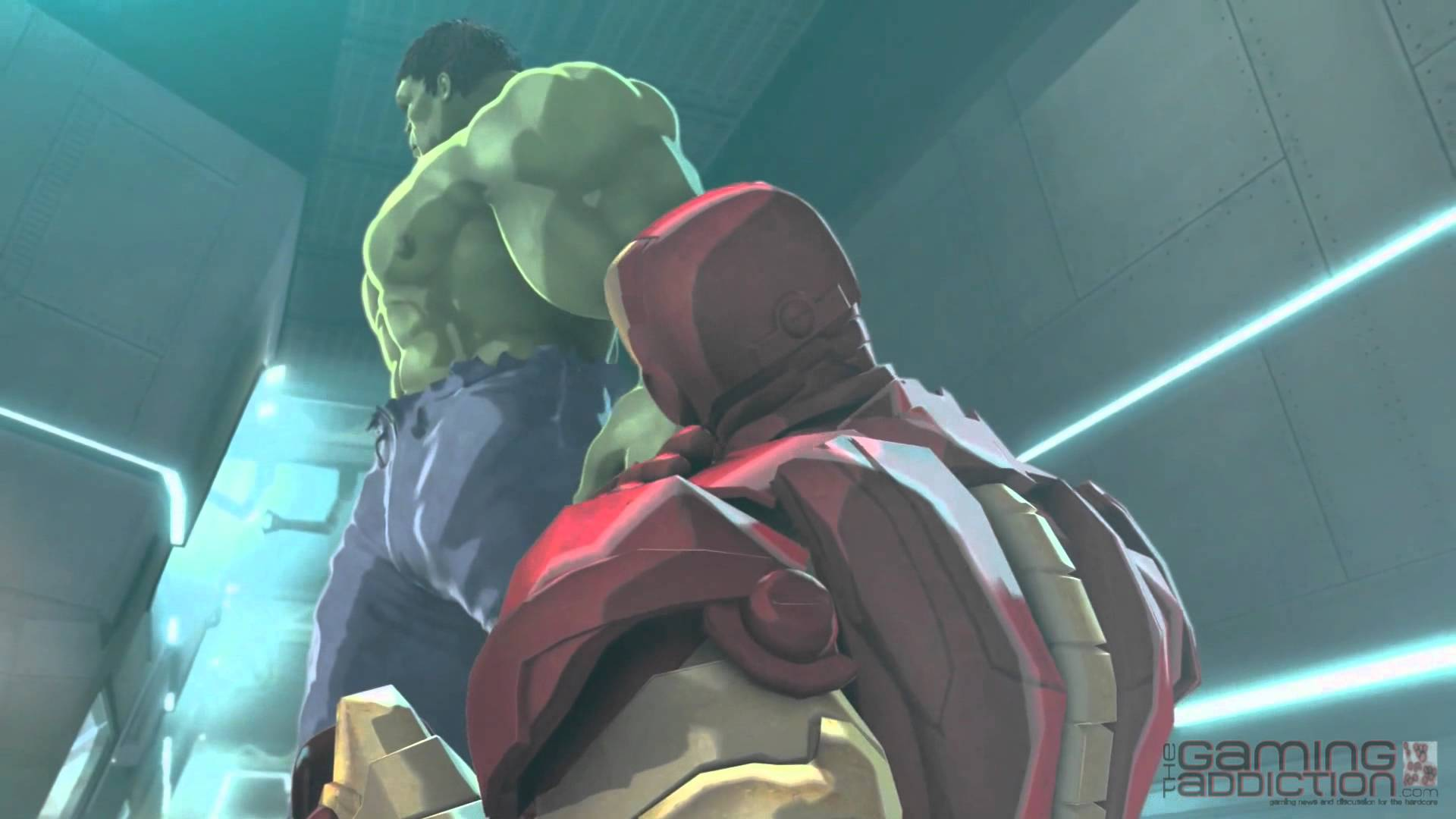 Iron Man & Hulk: Heroes United Backgrounds on Wallpapers Vista