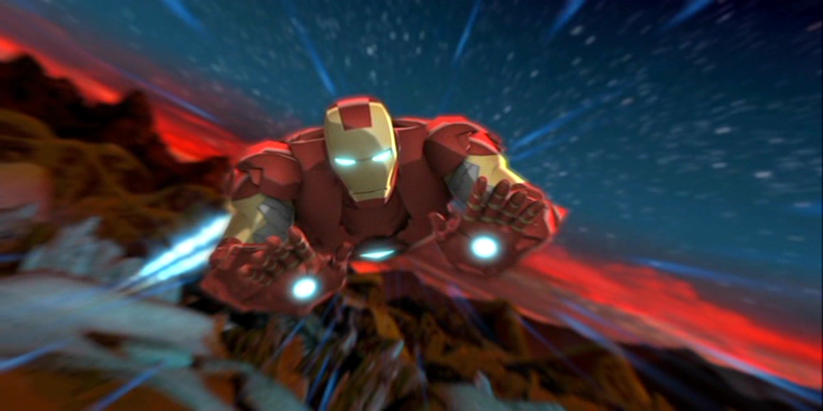 Nice wallpapers Iron Man & Hulk: Heroes United 1600x800px