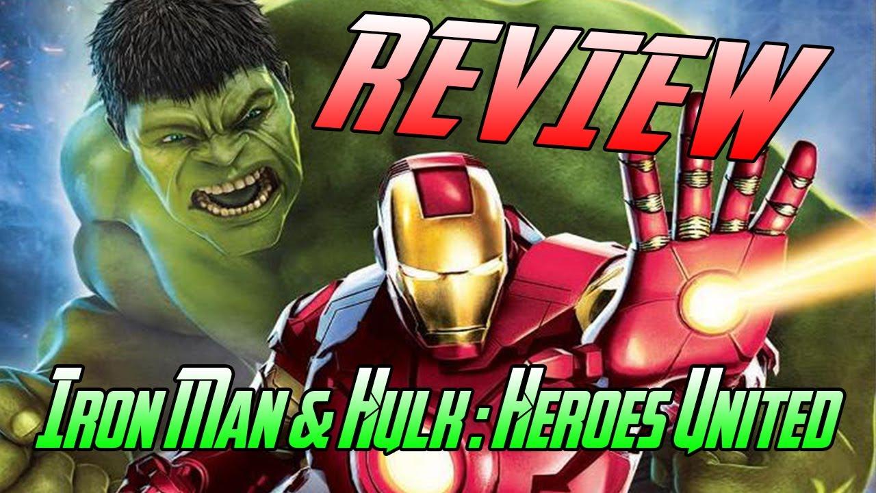 1280x720 > Iron Man & Hulk: Heroes United Wallpapers