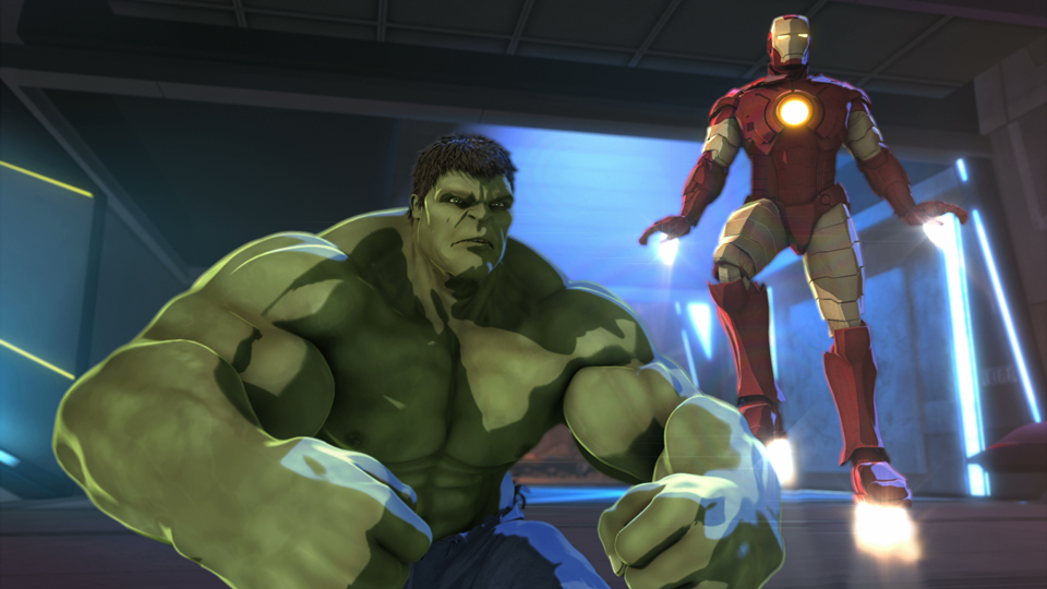 HD Quality Wallpaper | Collection: Movie, 960x540 Iron Man & Hulk: Heroes United
