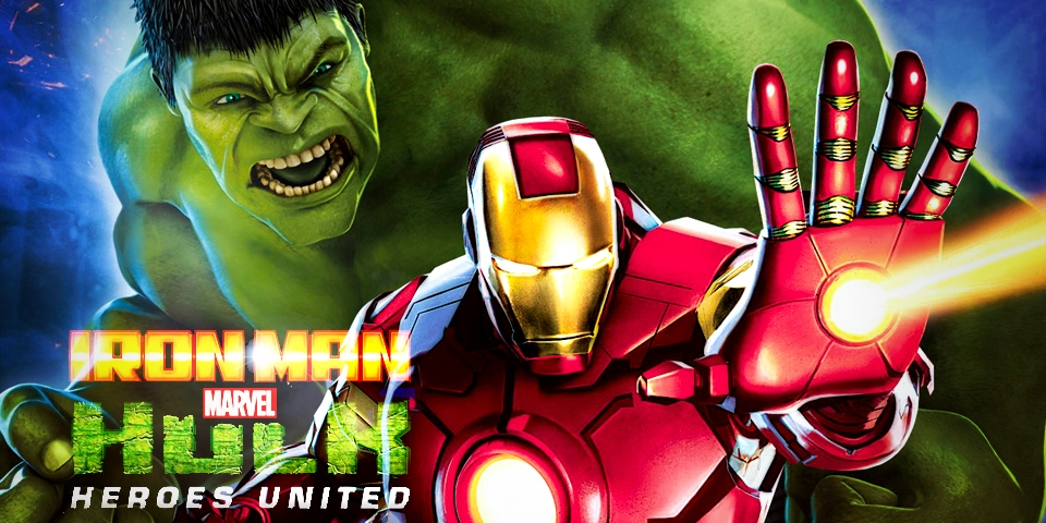 Nice Images Collection: Iron Man & Hulk: Heroes United Desktop Wallpapers