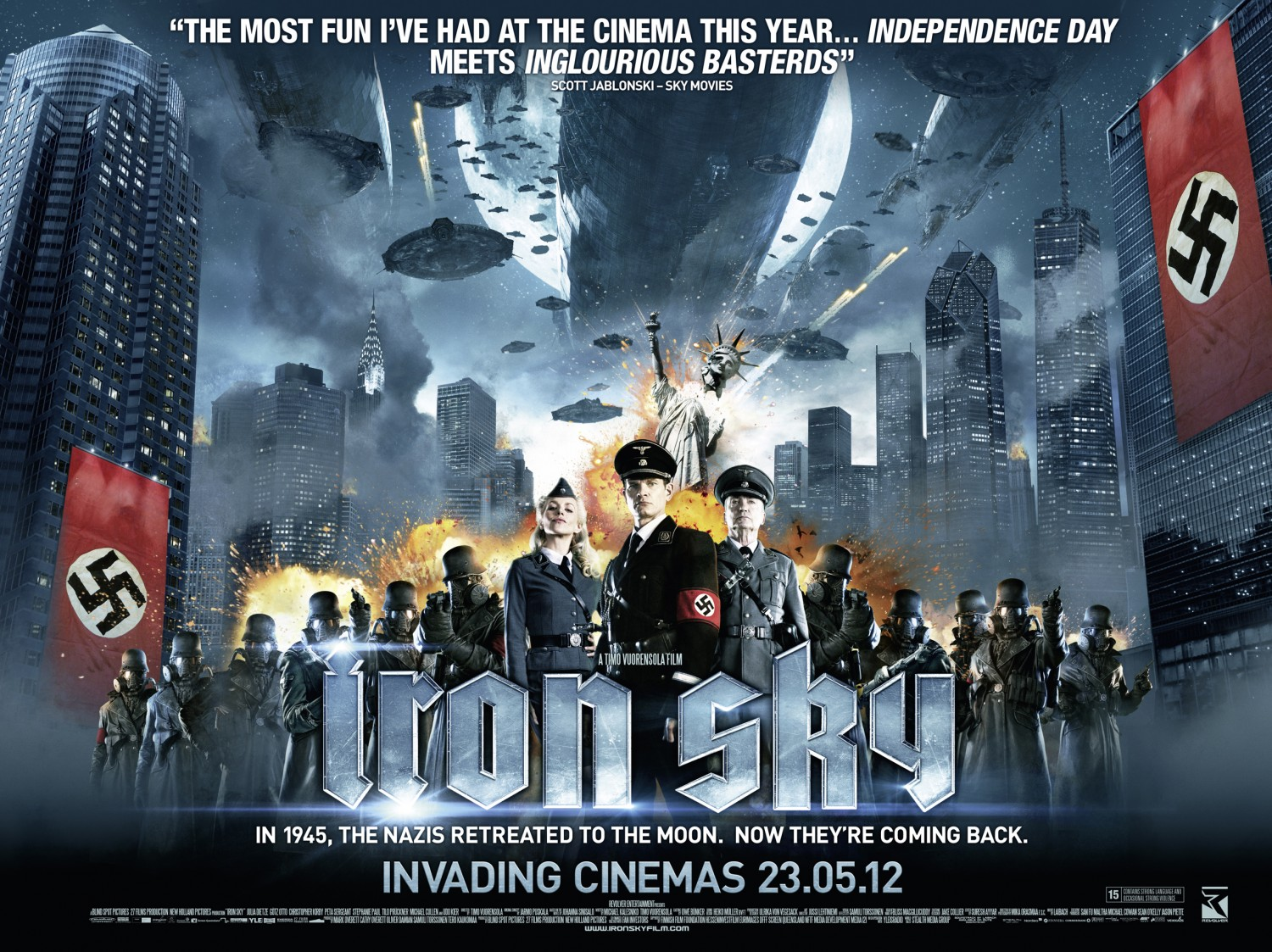 Nice Images Collection: Iron Sky Desktop Wallpapers