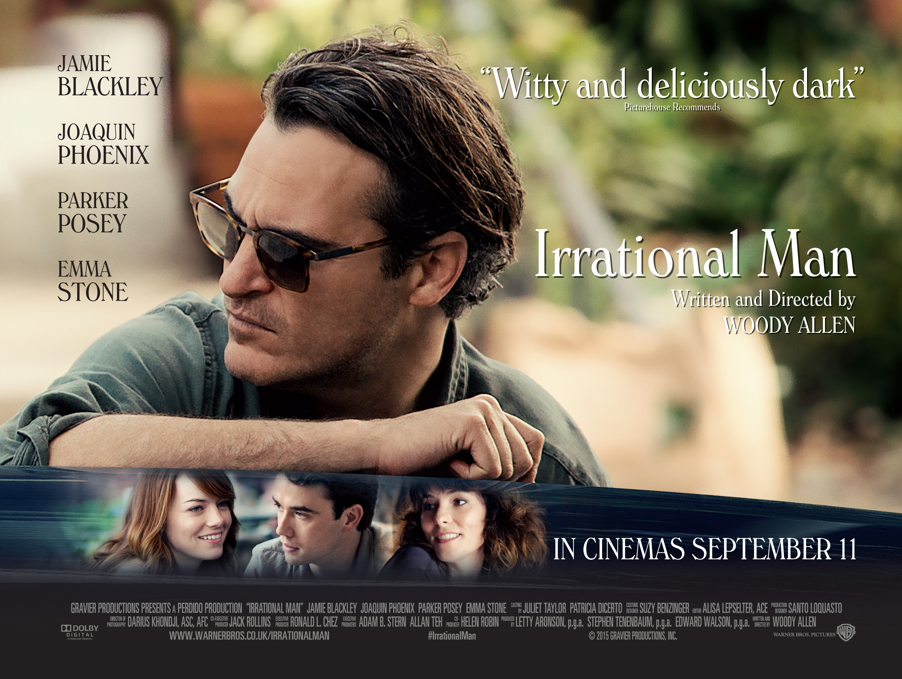 Irrational Man Backgrounds, Compatible - PC, Mobile, Gadgets| 3021x2275 px