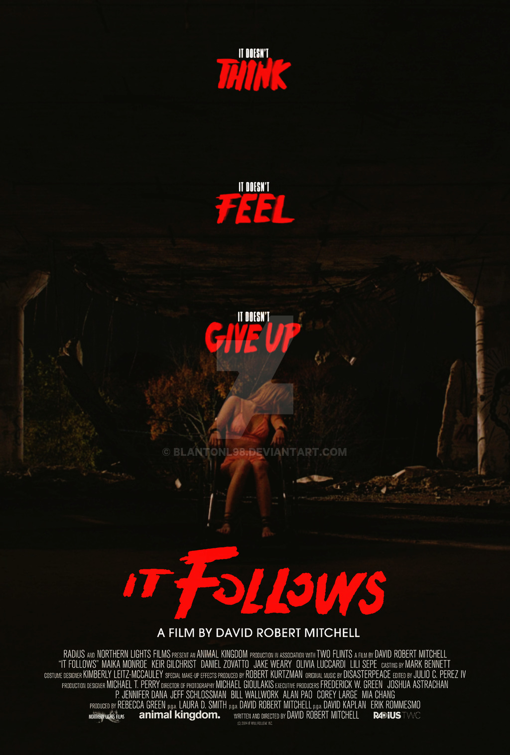 HD Quality Wallpaper | Collection: Movie, 1024x1517 It Follows