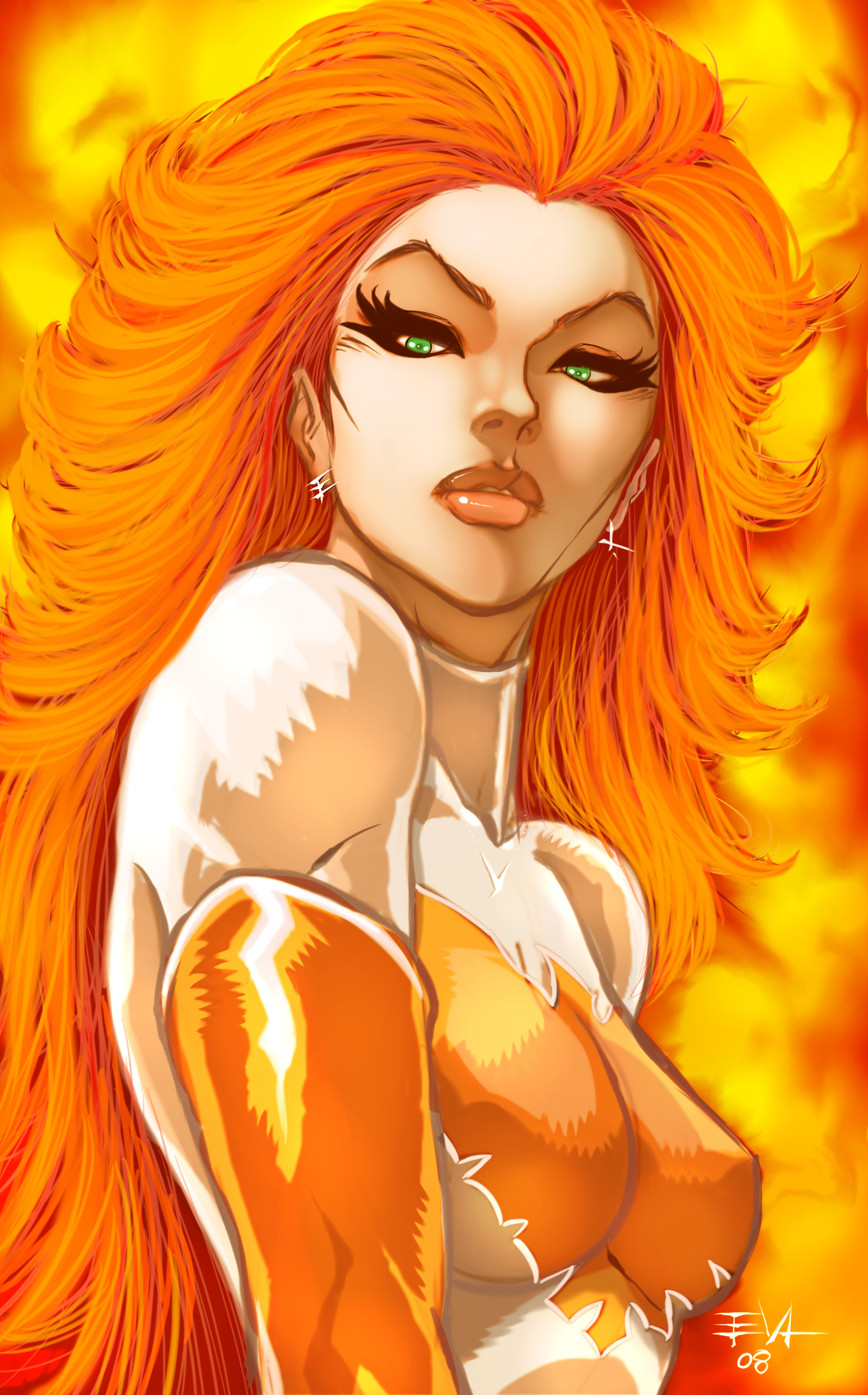 Nice wallpapers Jean Grey 3300x5300px