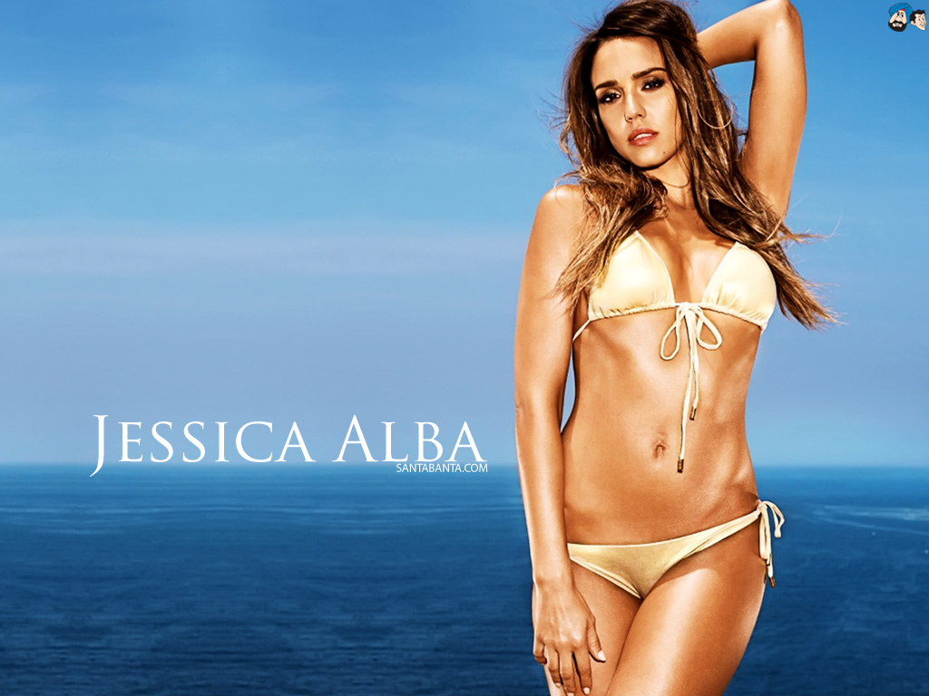 Jessica alba hot wallpaper