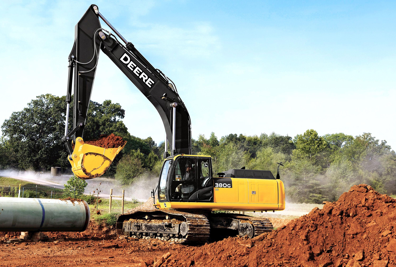 John Deere 350G Excavator Wallpapers Vehicles HQ John