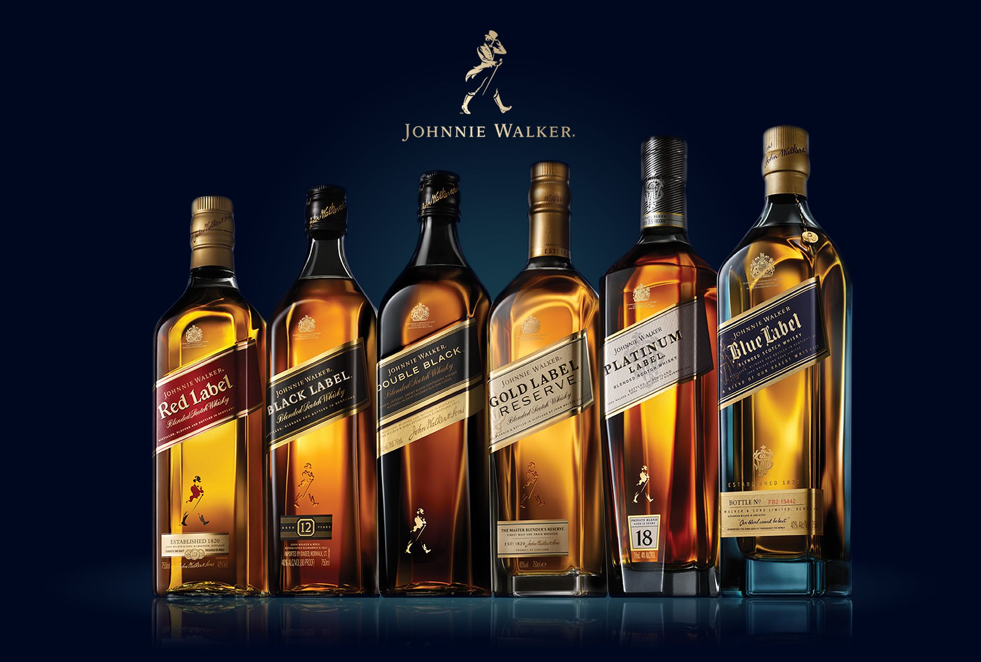 Nice Images Collection: Johnnie Walker Scotch Whisky  Desktop Wallpapers