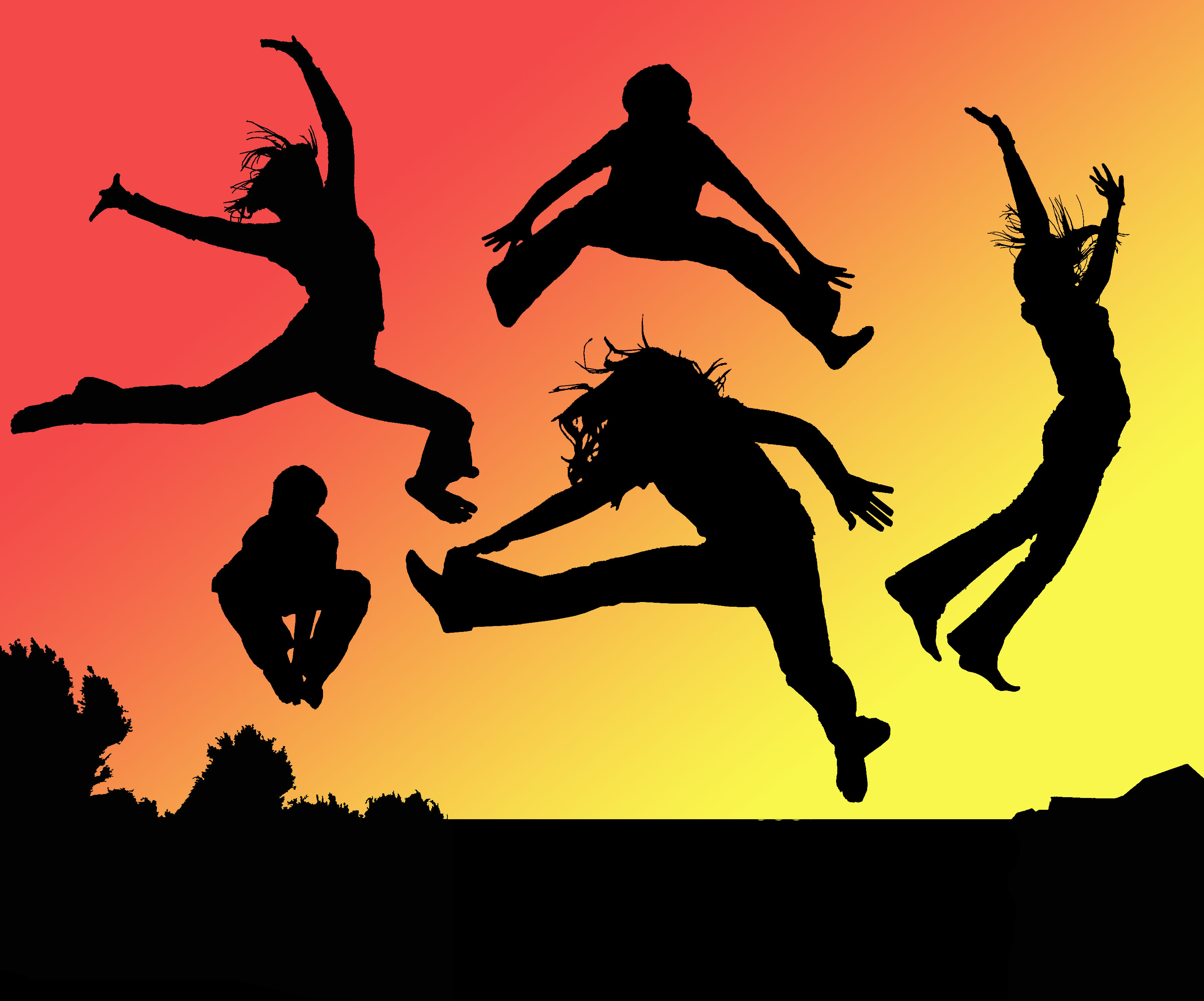Amazing Jump Pictures & Backgrounds
