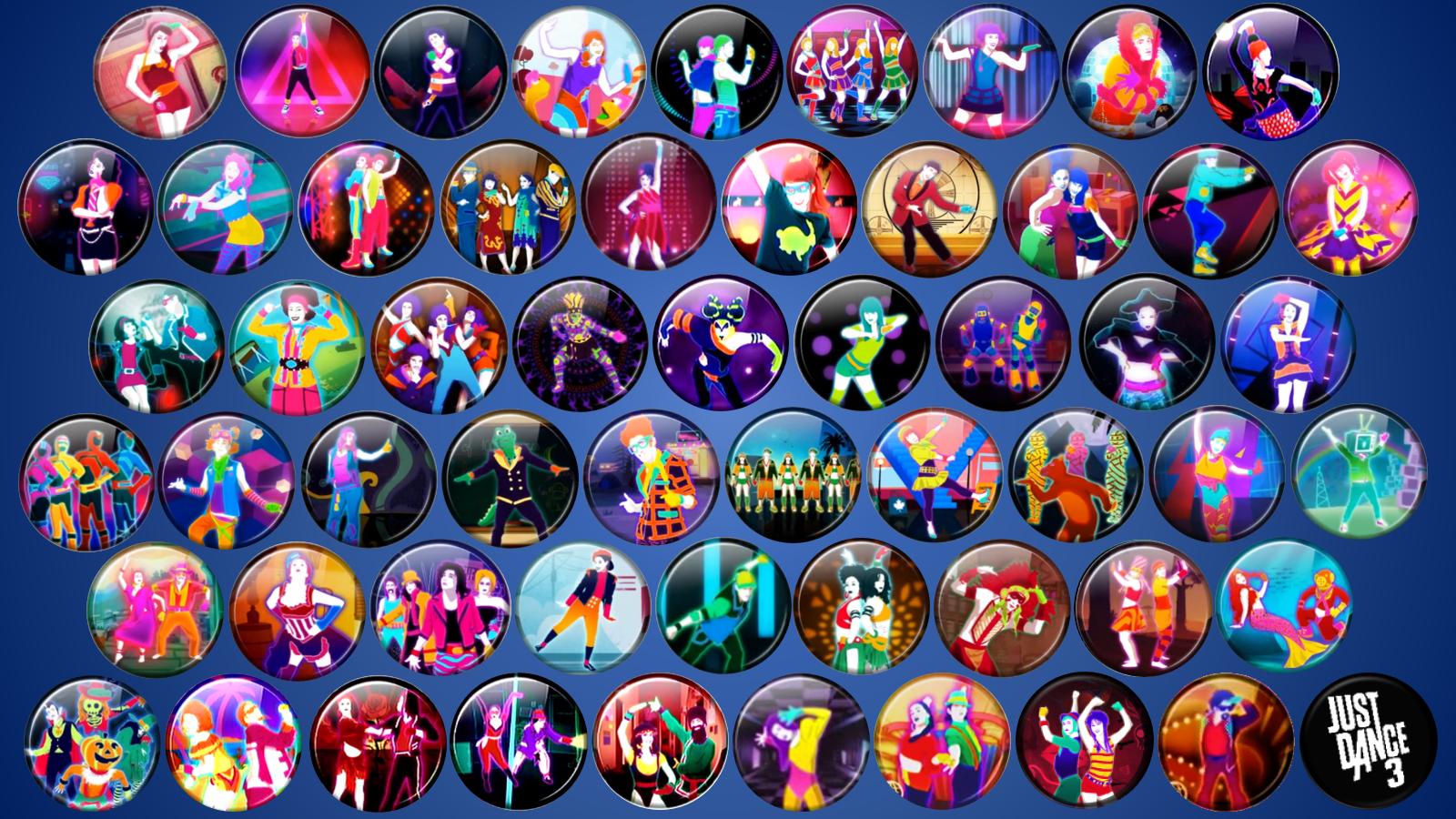 Most Viewed Just Dance 3 Wallpapers 4k Wallpapers