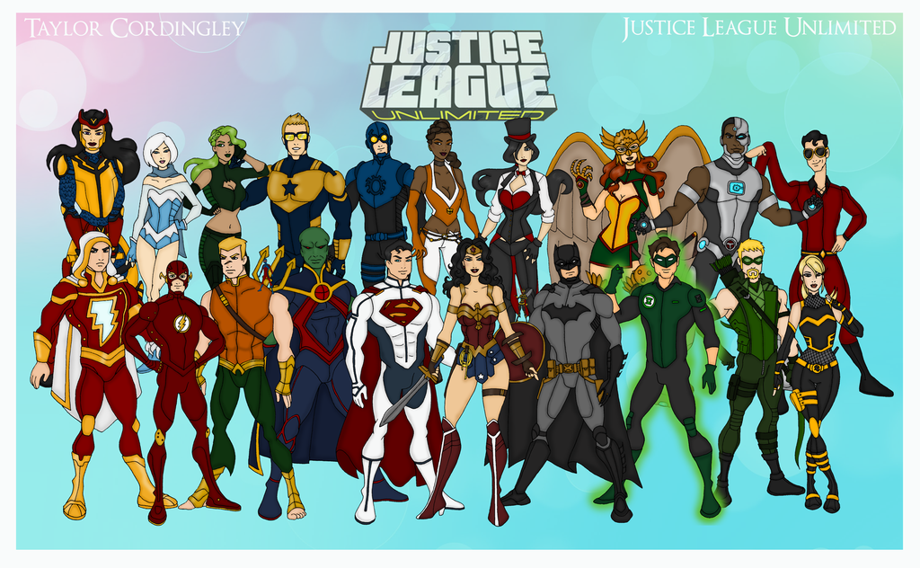 Justice League Unlimited Wallpapers Comics Hq Justice League