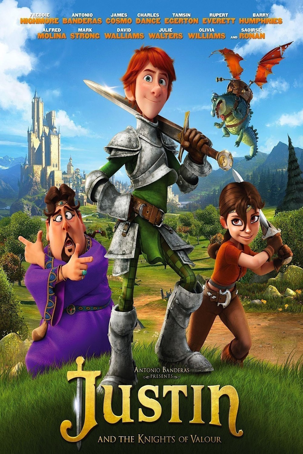 Justin And The Knights Of Valour Wallpapers Movie Hq Justin And The Knights Of Valour Pictures 4k Wallpapers 2019