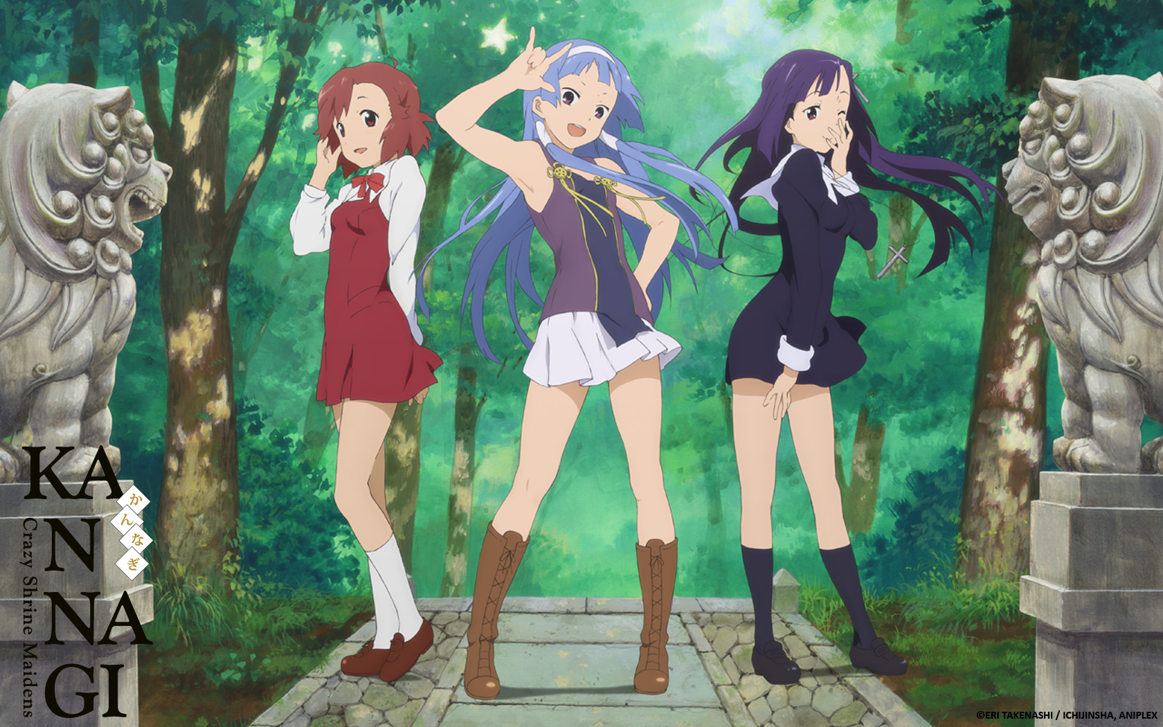 Kannagi Crazy Shrine Maidens Wallpapers Anime Hq Kannagi Crazy Images, Photos, Reviews