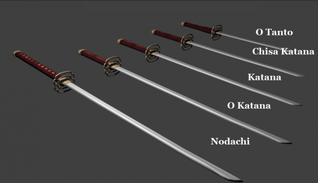 Nice Images Collection: Katana Desktop Wallpapers