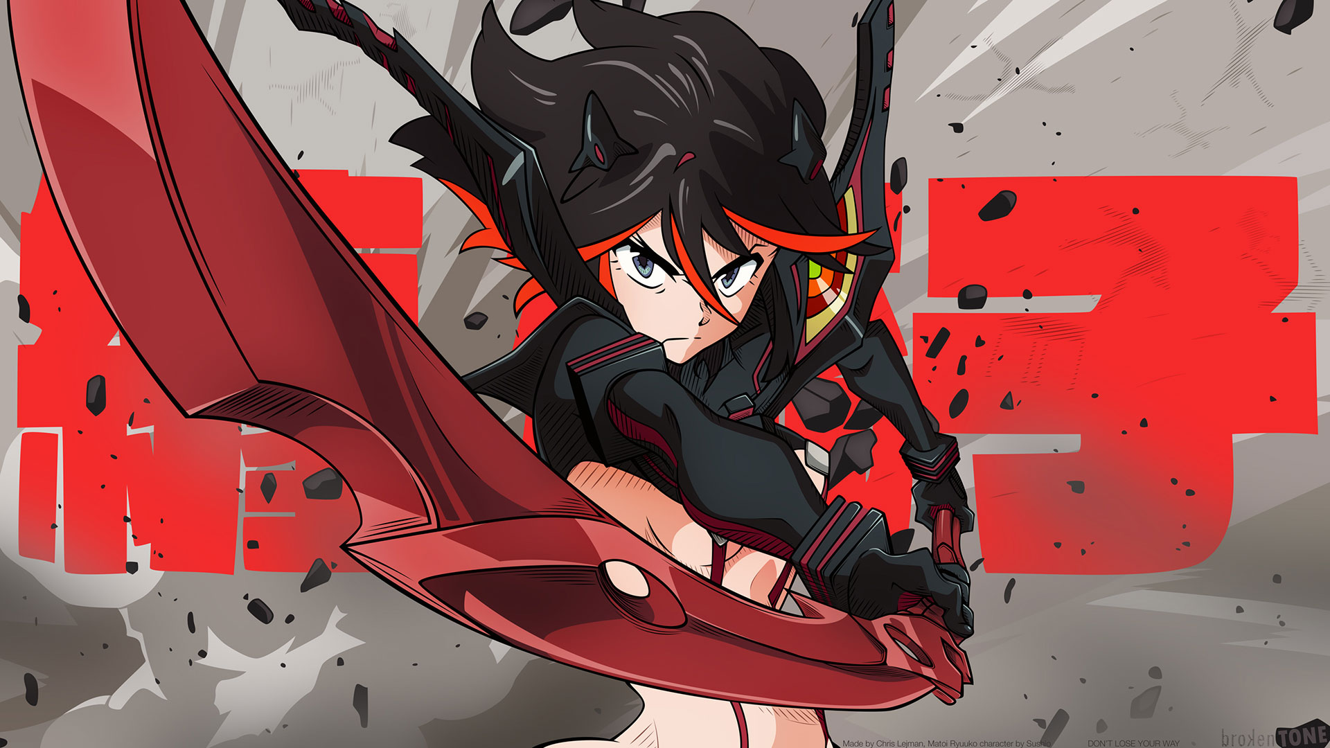 Kill La Kill Wallpapers Anime Hq Kill La Kill Pictures 4k