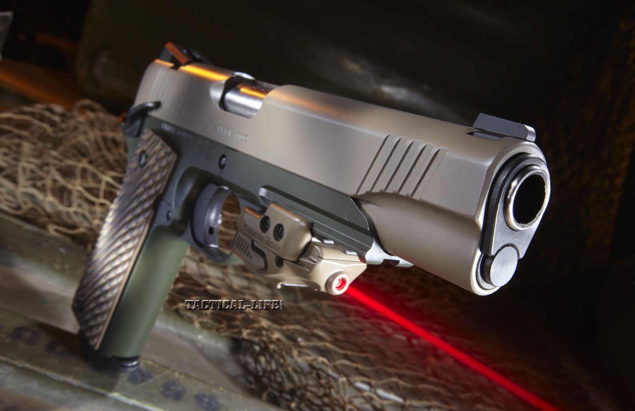 HD Quality Wallpaper | Collection: Weapons, 1294x837 Kimber Pistol