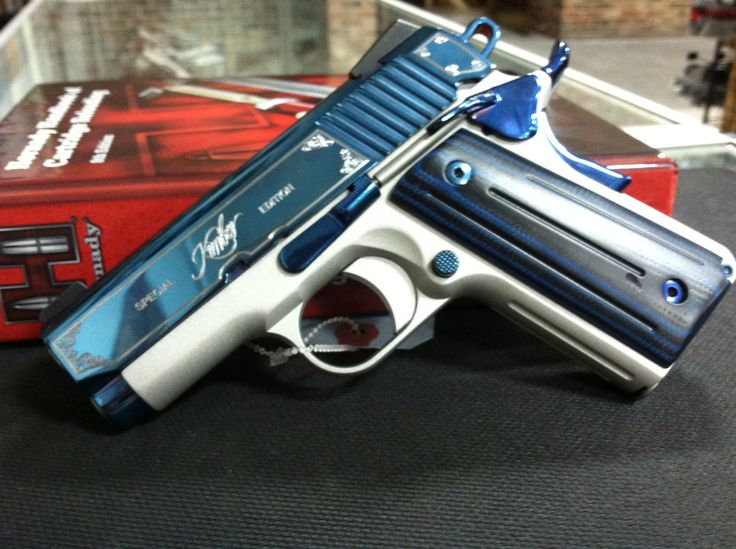 HD Quality Wallpaper | Collection: Weapons, 736x549 Kimber Pistol