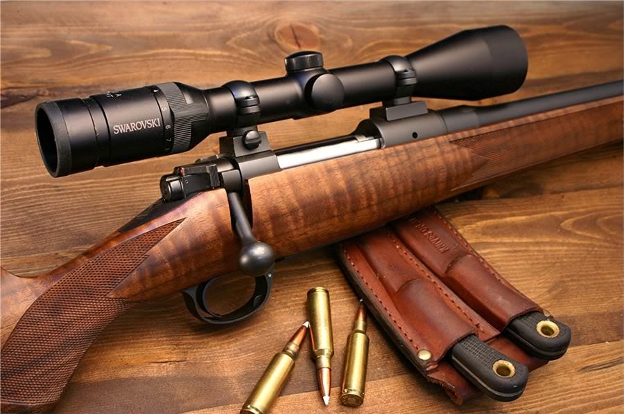 Nice Images Collection: Kimber Rifle Desktop Wallpapers
