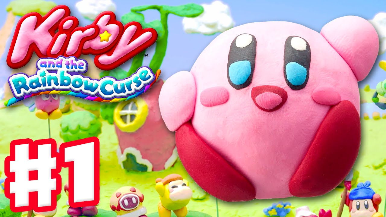 HD Quality Wallpaper | Collection: Video Game, 1280x720 Kirby And The Rainbow Curse