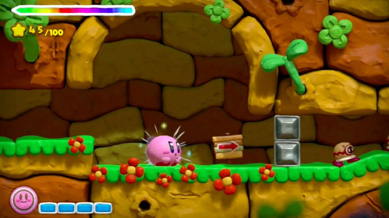 Kirby And The Rainbow Curse Backgrounds, Compatible - PC, Mobile, Gadgets| 1272x713 px