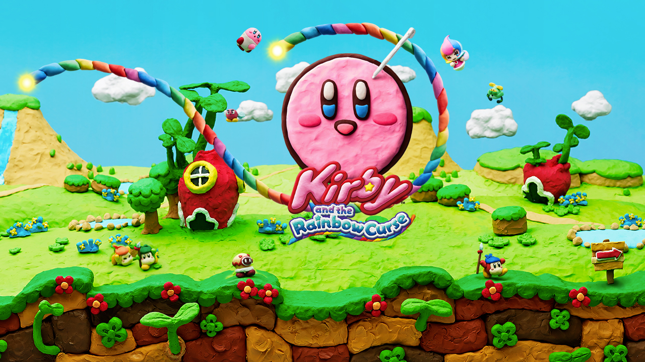 Kirby And The Rainbow Curse Backgrounds, Compatible - PC, Mobile, Gadgets| 1280x720 px