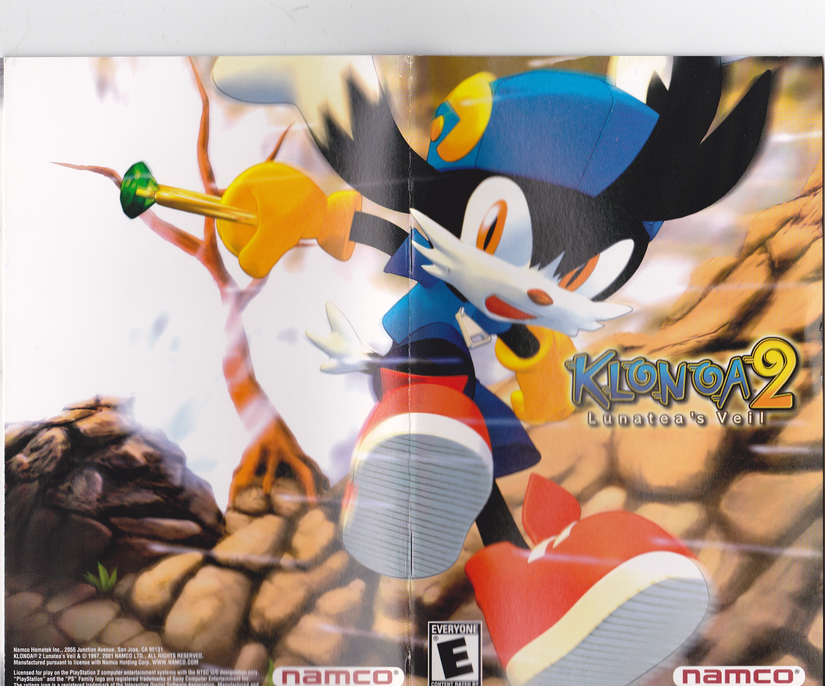 Nice Images Collection: Klonoa 2: Lunatea's Veil Desktop Wallpapers