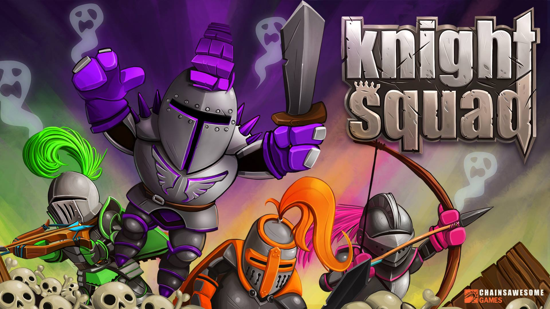 HQ Knight Squad Wallpapers | File 242.65Kb