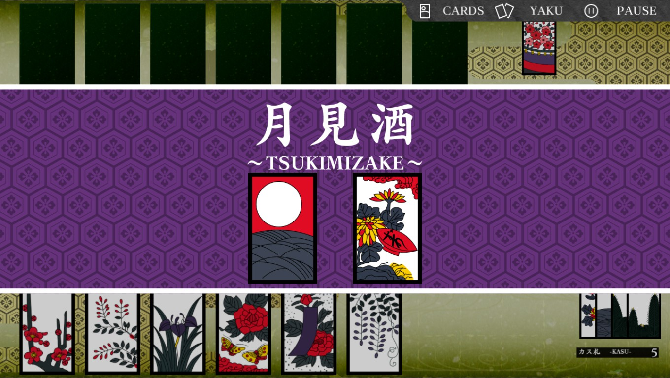 Nice wallpapers Koi-Koi Japan [Hanafuda Playing Cards] 1360x768px