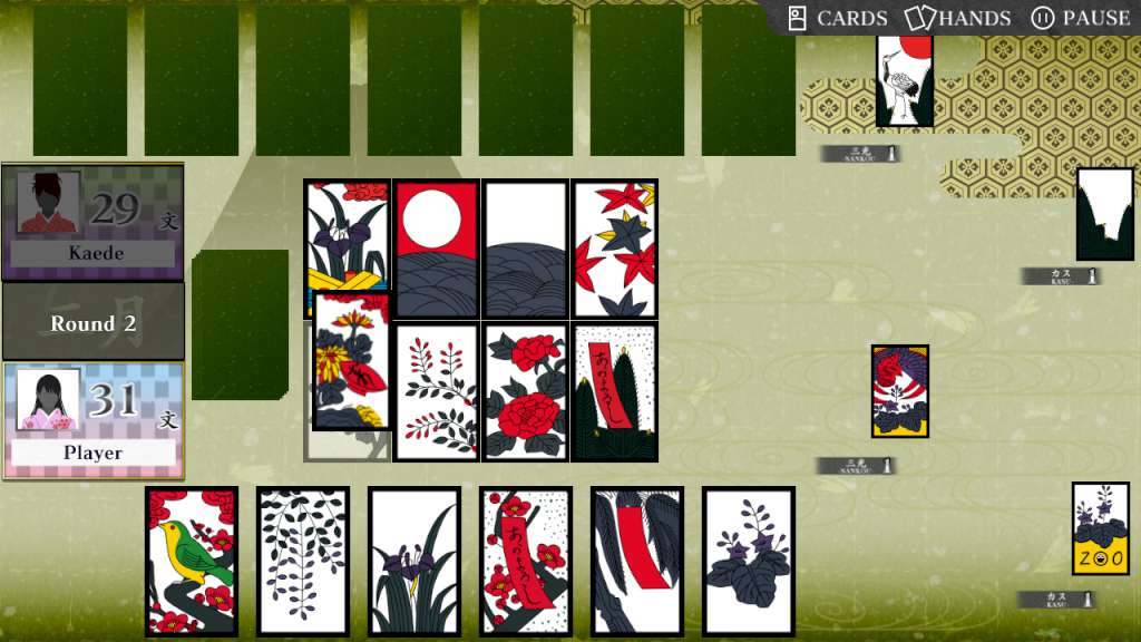 Koi-Koi Japan [Hanafuda Playing Cards] Backgrounds, Compatible - PC, Mobile, Gadgets| 1024x576 px